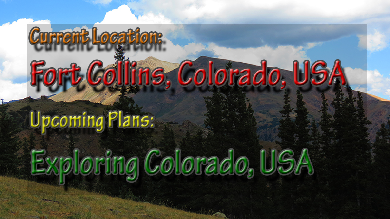 Fort Collins to Expploring Colorado
