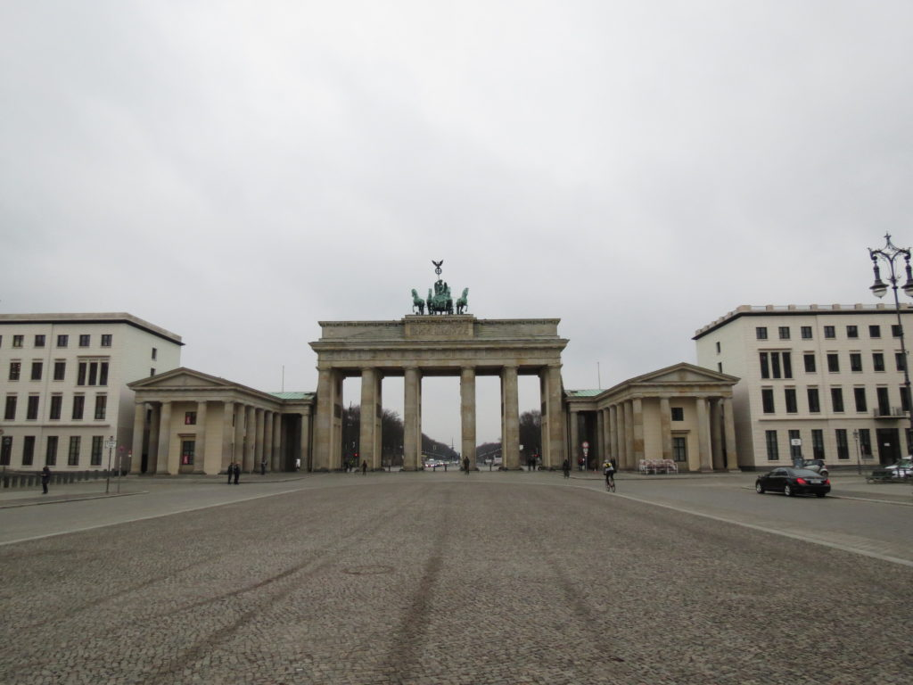 A private viewing of the Brandenburg Gate