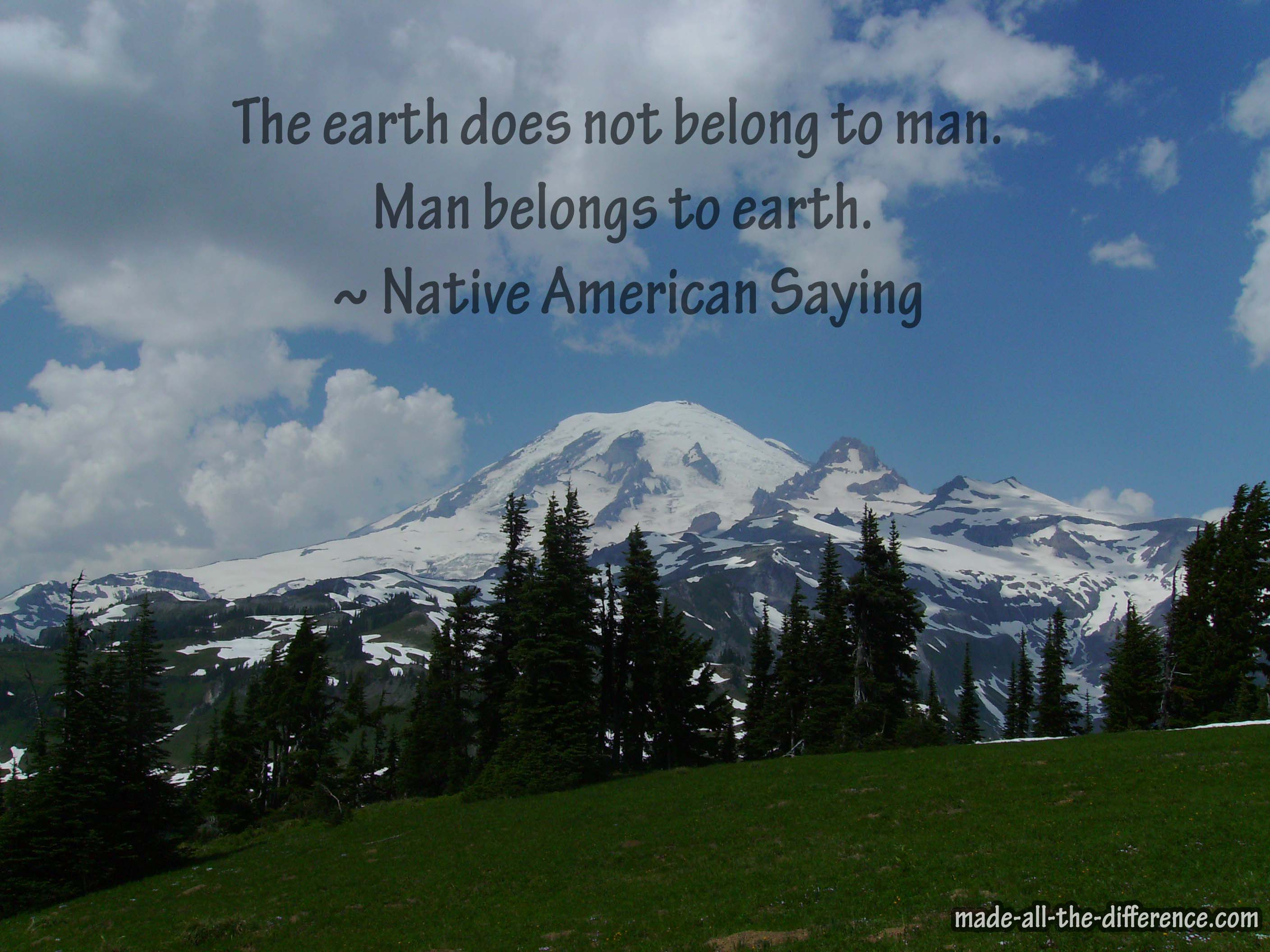 Earth Day Quotes: My Favorite Quotes Celebrating Earth Day 2015