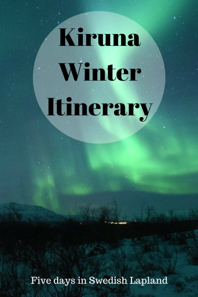 Looking for a Swedish winter getaway? The town of Kiruna makes for the perfect place.  Here is the perfect Kiruna Winter Itinerary.