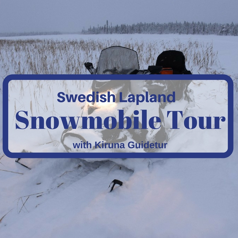 A Snowmobile Tour in Swedish Lapland with Kiruna Guidetur
